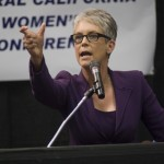 Jamie Lee Curtis at the 2012 Central California Women's Conference.