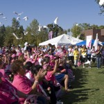 Doves are released at the 2012 Susan G. Komen Race for the Cure.